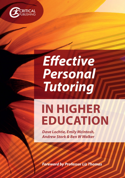 Book cover for Effective Personal Tutoring in Higher Eudcation